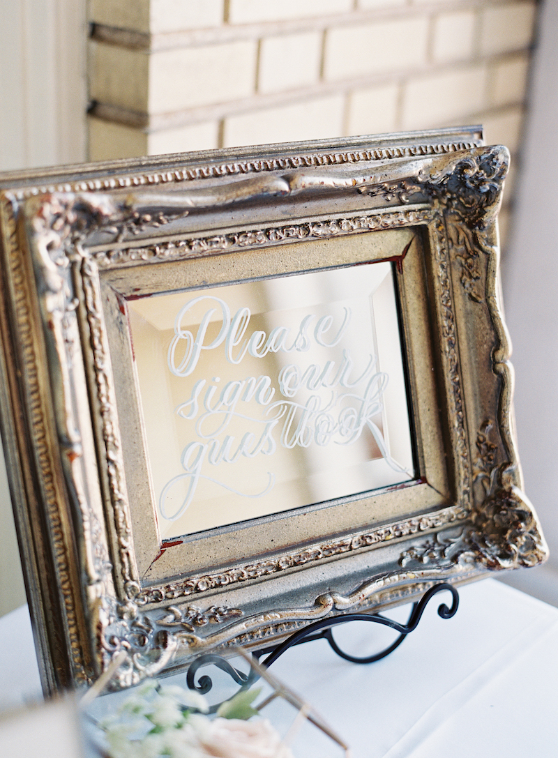 Delighted Calligraphy wedding