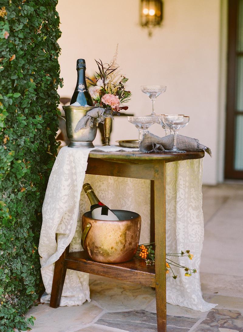 Florabundance champagne bar