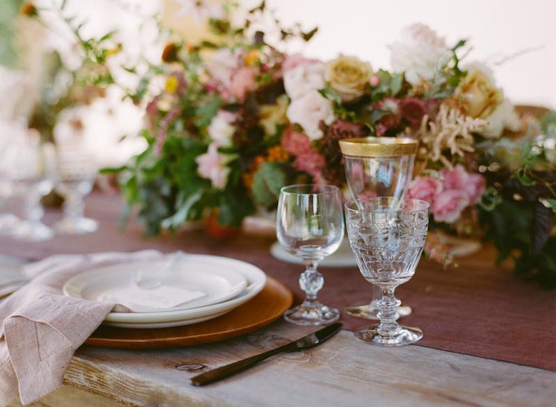 Florabundance tablescape