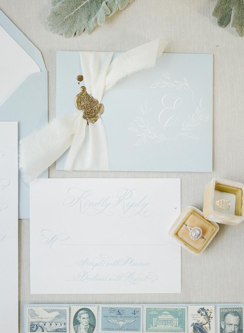 charlotte wedding calligraphy