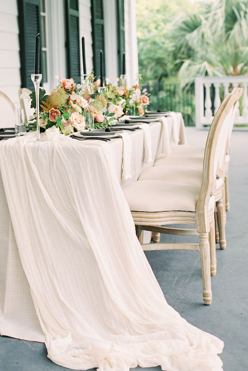 tablecloth draping
