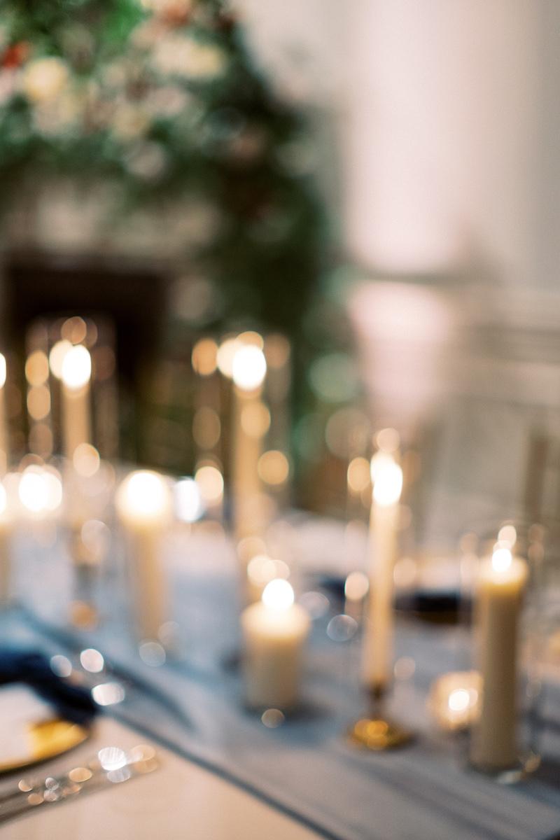candle bokeh